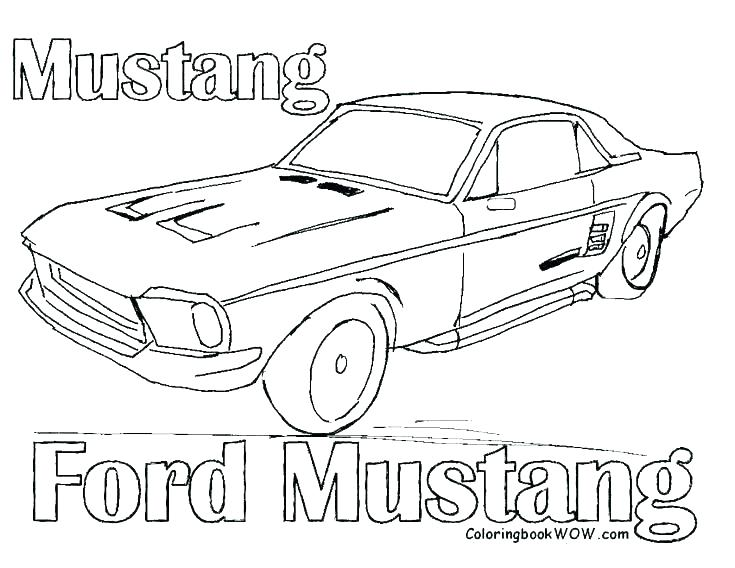 735x568 Mustang Car Coloring Pages Coloring Car Pages Fast Car Coloring