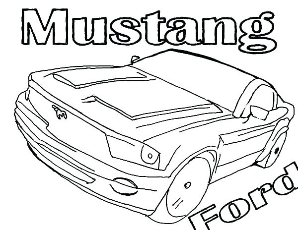 600x464 Mustang Car Coloring Pages Mustang Ford Car Coloring Pages Mustang