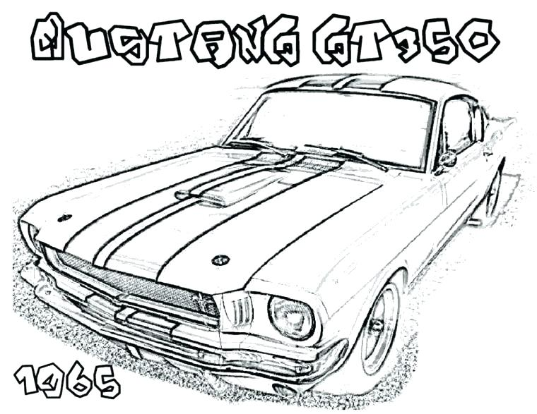 760x587 Mustang Coloring Page Ford Mustang Coloring Pages Mustang Car