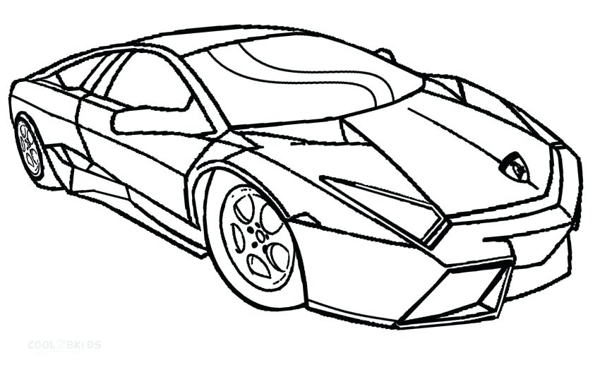 850x517 Printable Car Coloring Pages Printable Coloring Pages For Kids