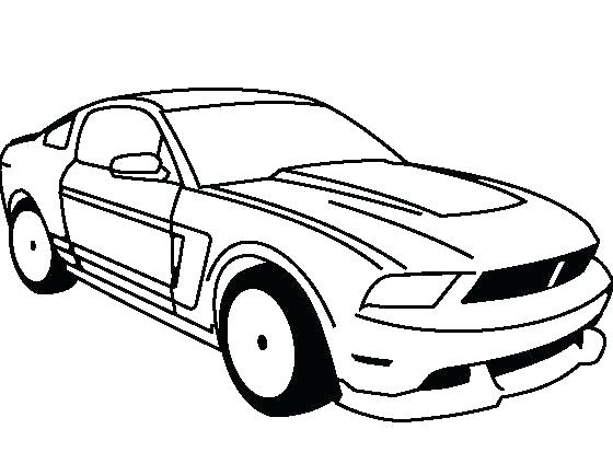 560x424 Mustang Coloring Pages Surprising Mustang Coloring Pages Best