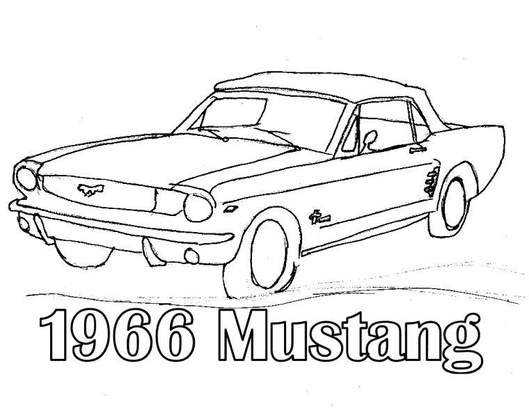 760x587 Mustang Para Colorear Mustang Coloring Pages Mustang Para Pintar