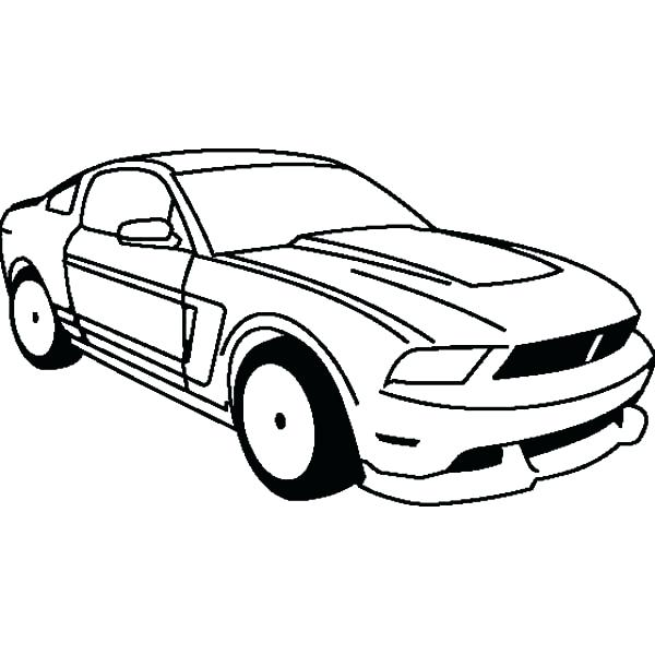 600x600 Ford Mustang Gt Coloring Page Ford Mustang Gt Coloring Page