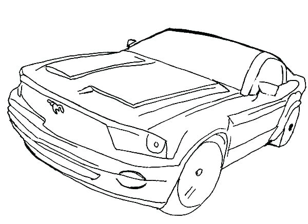 600x437 Mustang Car Coloring Pages Ford Gt Coloring Pages Cool Cars