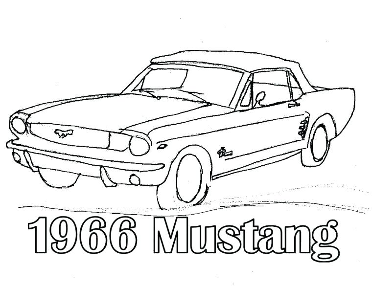 760x587 Mustang Coloring Pages Car Mustang Coloring Pages Ford Mustang Gt