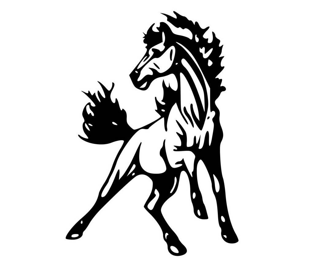 1027x877 Inspiring Mustang Horse Coloring Pages Cartoon Co Vitltcom Pics
