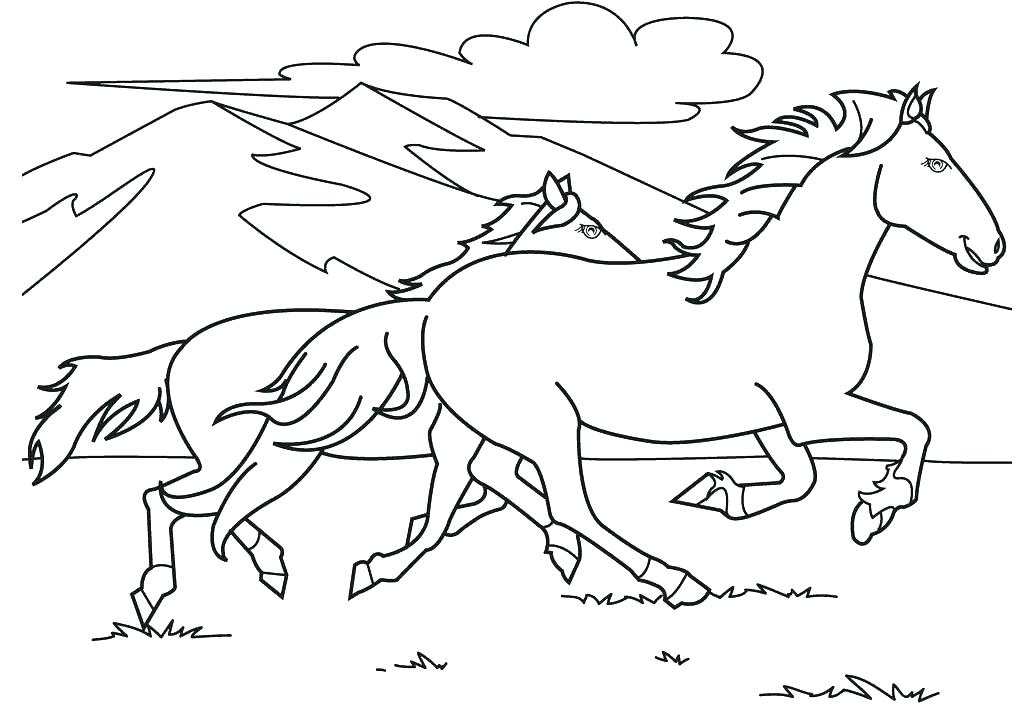 1024x725 Barbie Horse Coloring Pages Horse Colouring Pages Barbie Horse