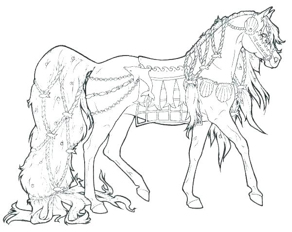 600x476 Horse Coloring Pages To Print