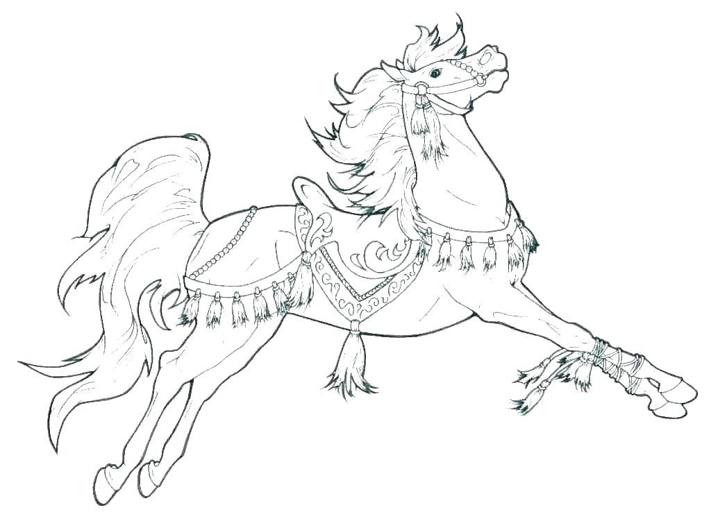 1024x748 Mustang Horse Coloring Pages Maycrutex