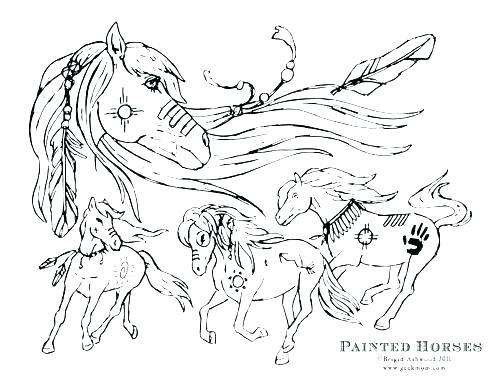 500x386 Coloring Page Of Horse Coloring Page Of Horse Realistic Horse