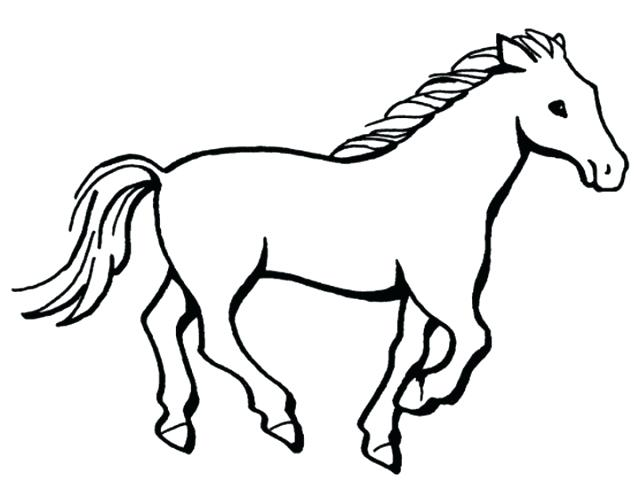 640x489 Horse Coloring Pages Printable Or Horse Coloring Pages Horse