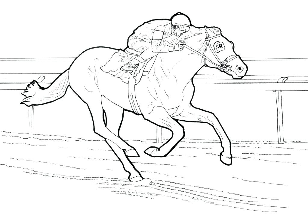 1024x740 Horse Coloring Pages To Print Free Printable Horse Coloring Pages