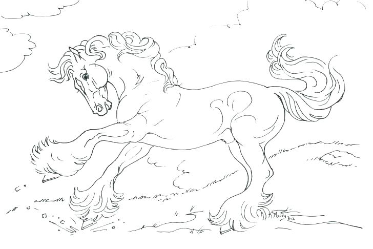 728x486 Horse Printable Coloring Pages Wild Horses Coloring Pages Coloring