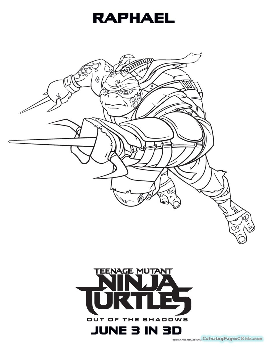 927x1200 Teenage Mutant Ninja Turtles Coloring Pages Leonardo Coloring