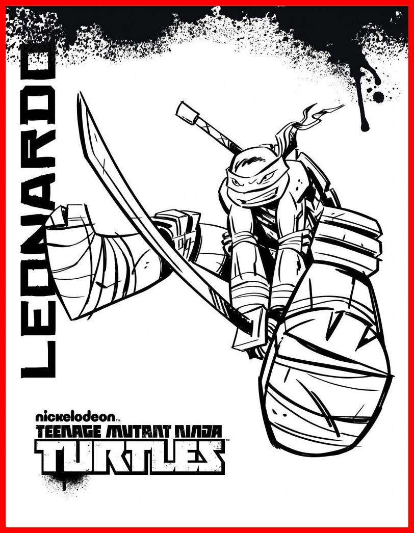 812x1046 Marvelous Teenage Mutant Ninja Turtles Coloring Pages Sharpie Mugs