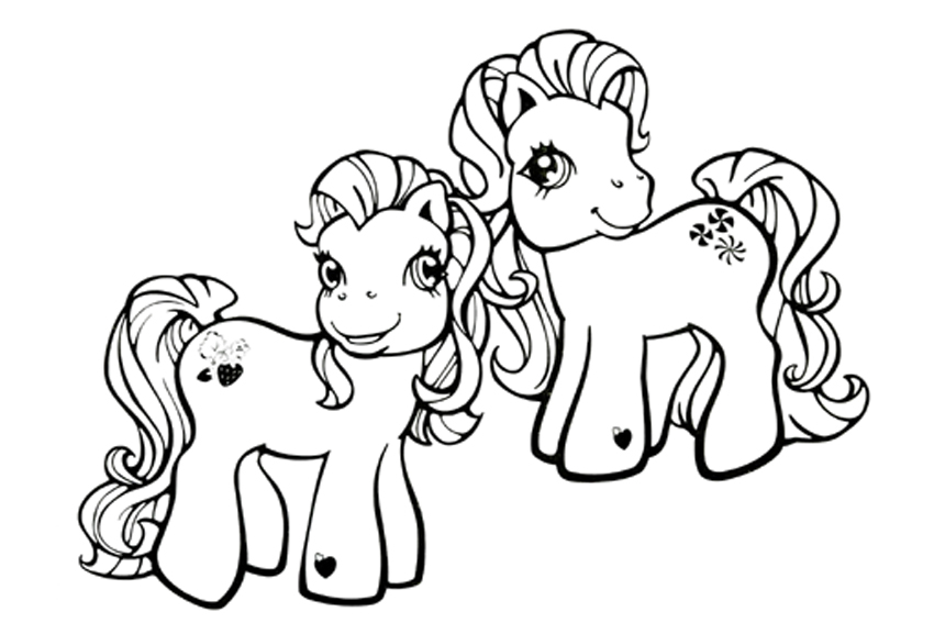 850x567 My Little Pony Coloring Pages To Print And Color In For Free