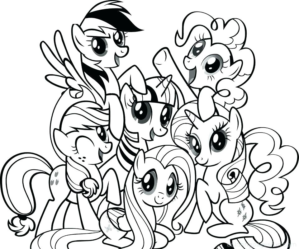 960x800 Coloring Pages My Little Pony Pony Color Pages My Little Pony