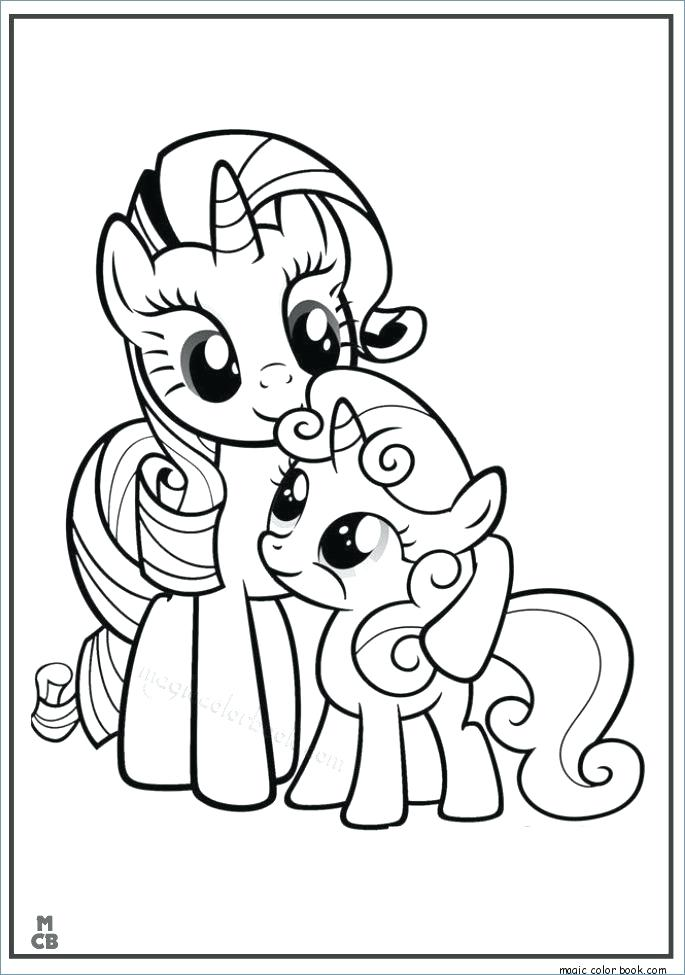 685x975 My Little Pony Coloring Pages Free Best My Little Pony Coloring