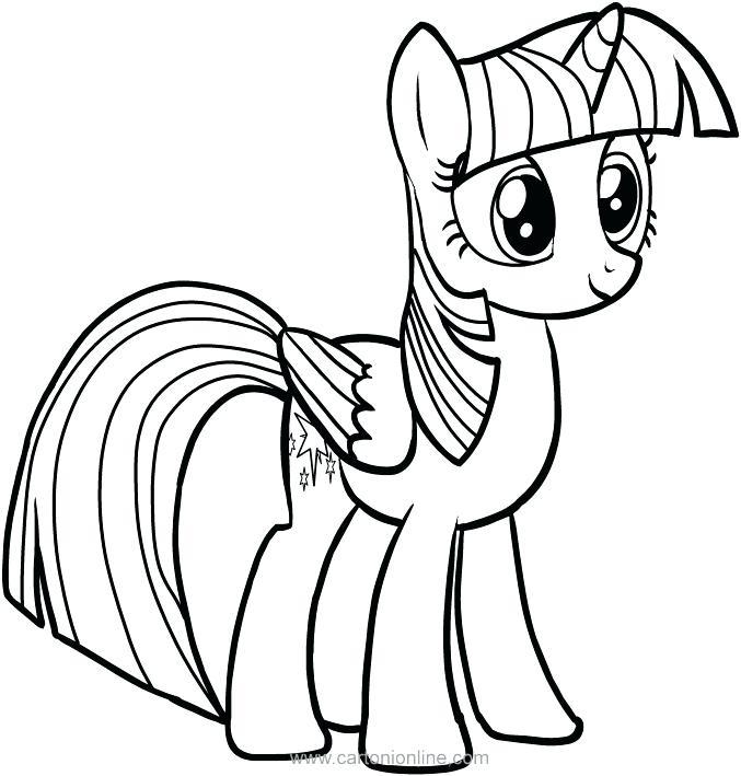 677x709 Princess Twilight Sparkle Coloring Pages My Little Pony Friendship