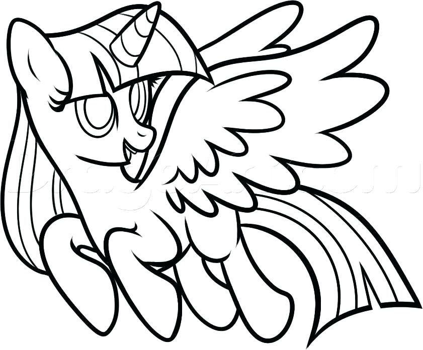 841x696 Twilight Sparkle Coloring Pages Coloring Pages My Little Pony