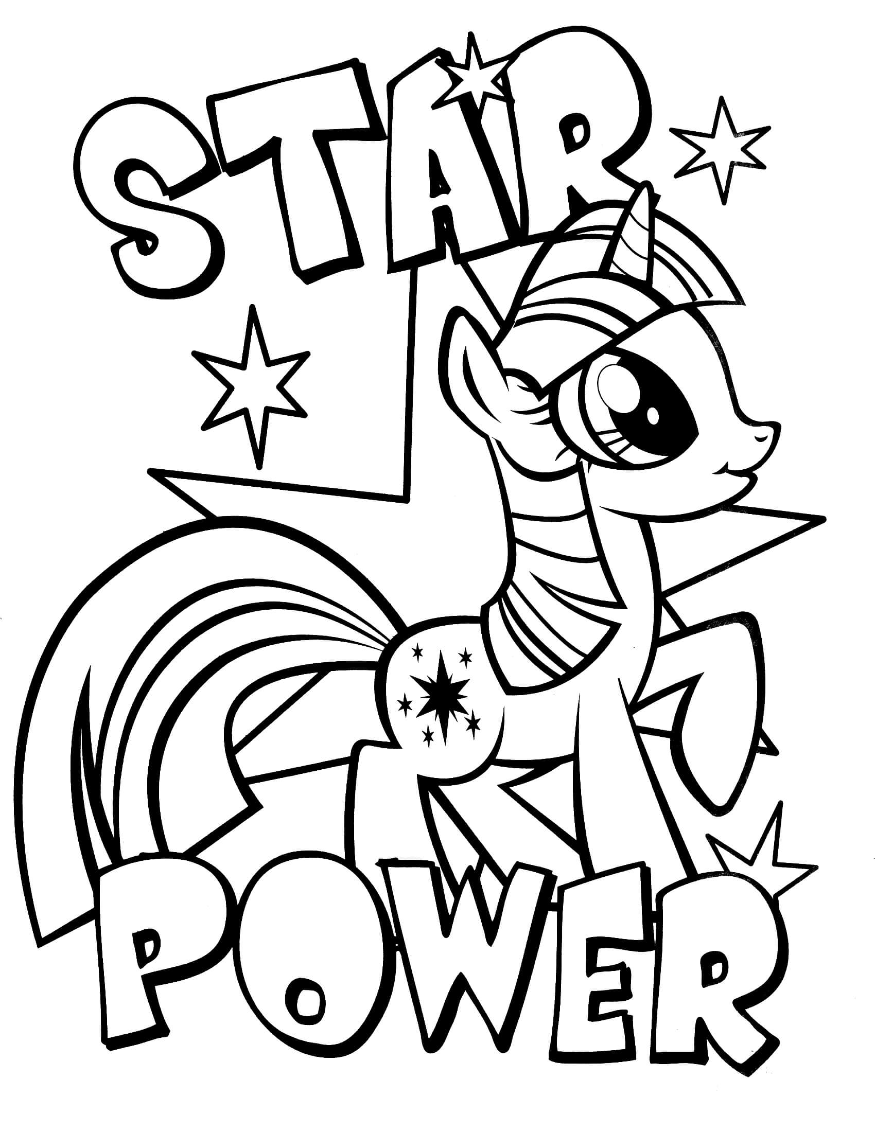 1700x2200 Little Pony Coloring Pages For Kids