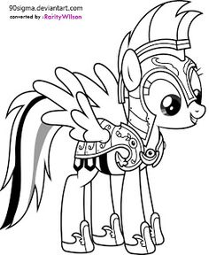 236x288 My Little Pony Baby Coloring Pages For Kids
