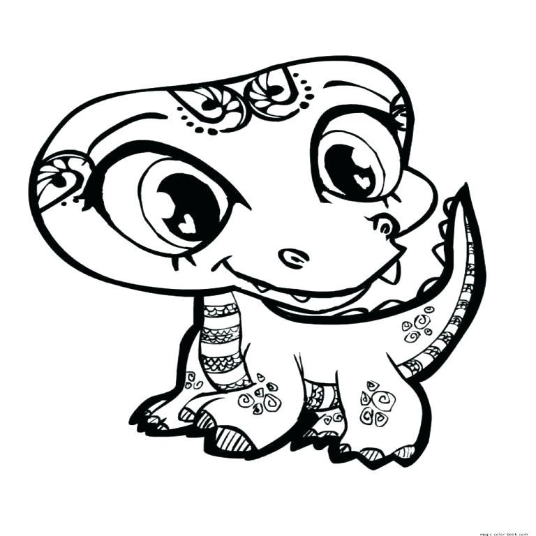 768x768 Lps Coloring Pages Free Littlest Pet Shop Coloring Pages Lps