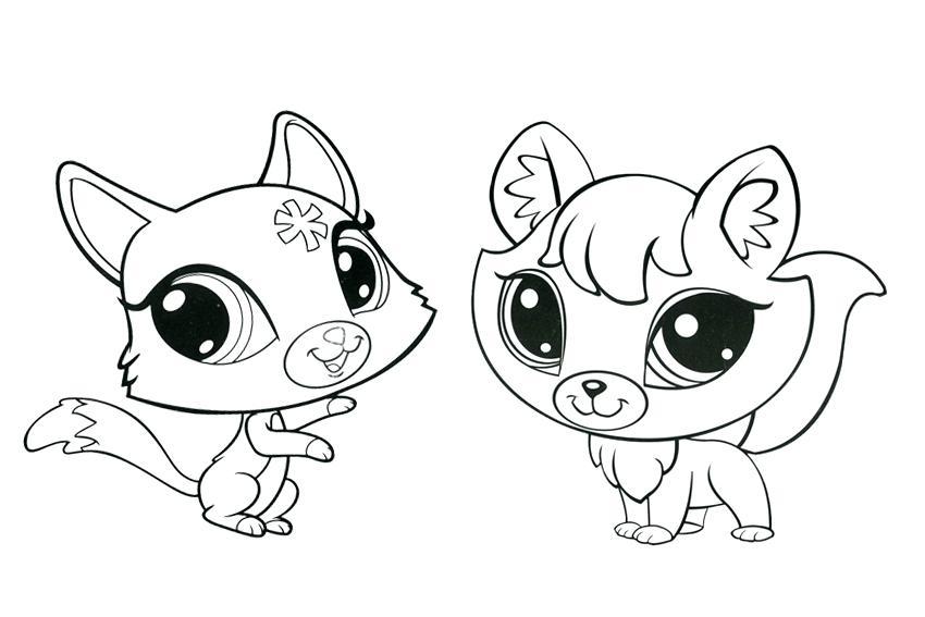 850x567 Pet Shop Coloring Pages Littlest Pet Shop Coloring Pages Kittens