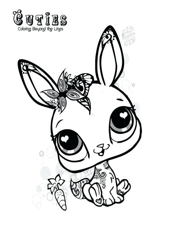 600x776 Littlest Pet Shop Coloring Pages