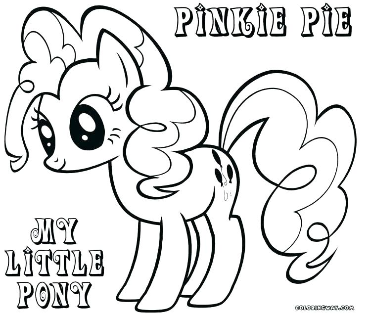 My Little Pony Birthday Coloring Pages at GetDrawings ...