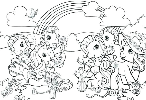 My Little Pony Coloring Pages Games At Getdrawings Com