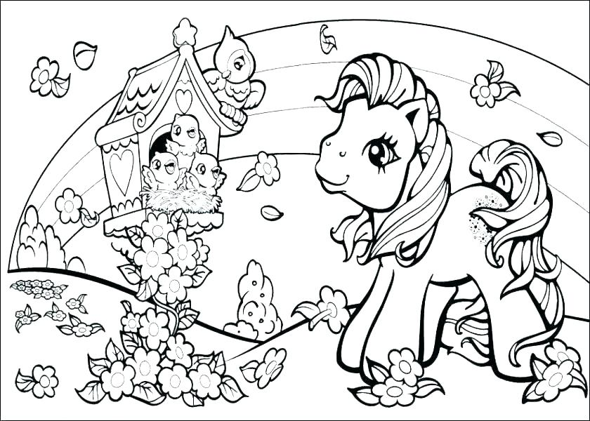 840x600 My Little Pony Coloring Pages Online Idea My Little Pony