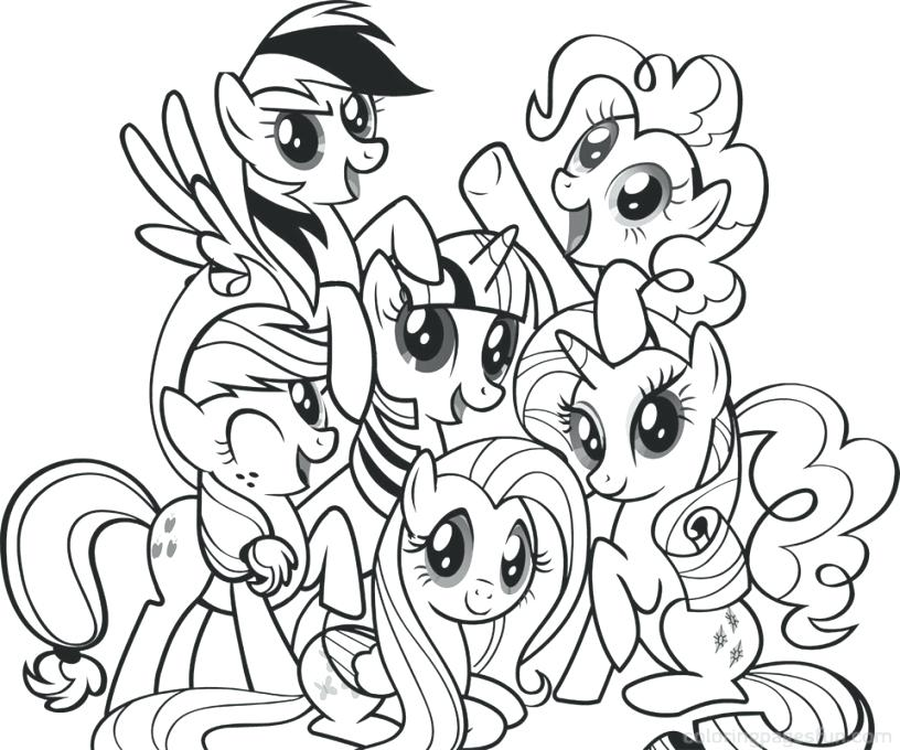 My Little Pony Coloring Pages Online At GetDrawings Free Download