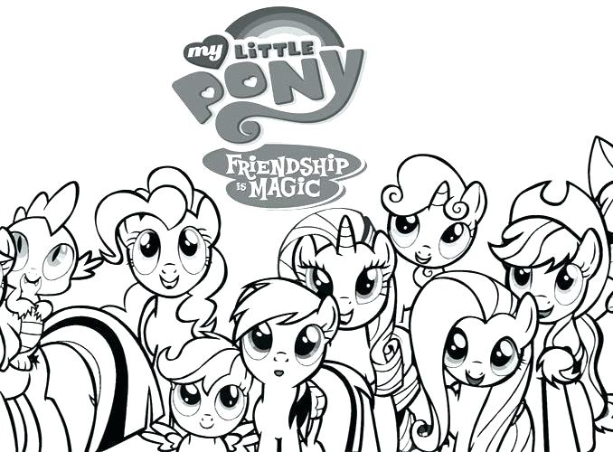 678x500 Mlp Coloring Pages