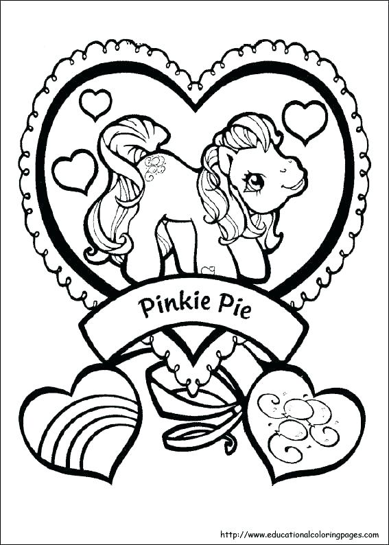567x794 Coloring Pages To Color Online My Little Pony Coloring Pages
