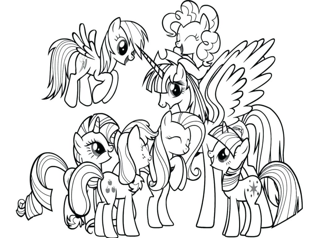 my little pony coloring pages pdf at getdrawings  free