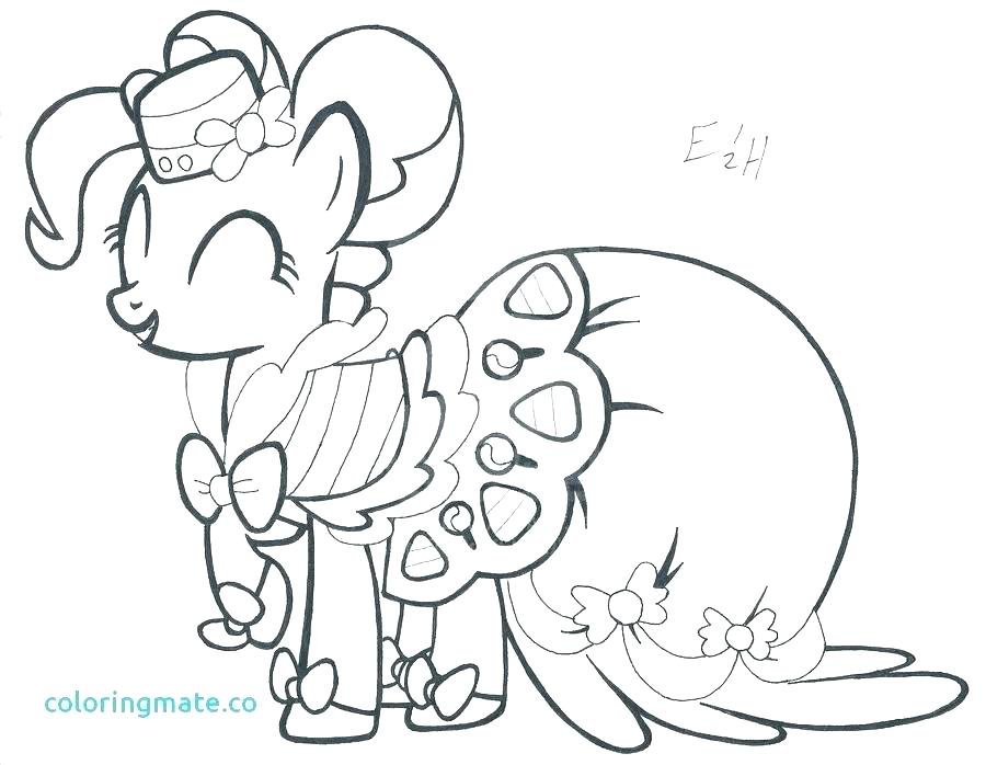 My Little Pony Coloring Pages Pinkie Pie At Getdrawings Free Download