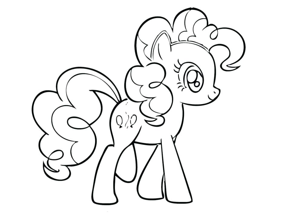 My Little Pony Coloring Pages Pinkie Pie And Rainbow Dash At