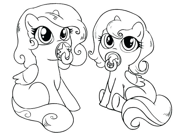 618x462 My Little Pony Baby Coloring Pages My Little Pony Coloring Pages