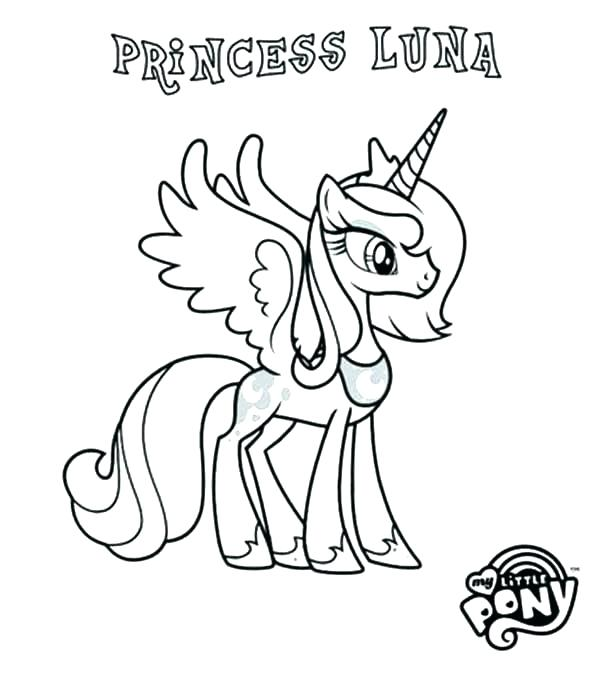 600x676 My Little Pony Princess Cadence Coloring Pages Beautiful Princess