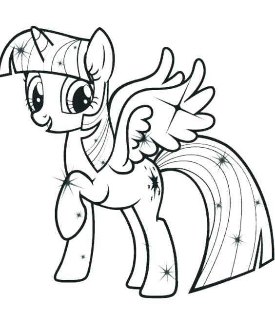 564x638 My Little Pony Coloring Pages Princess Luna Filly Jgheraghty Site