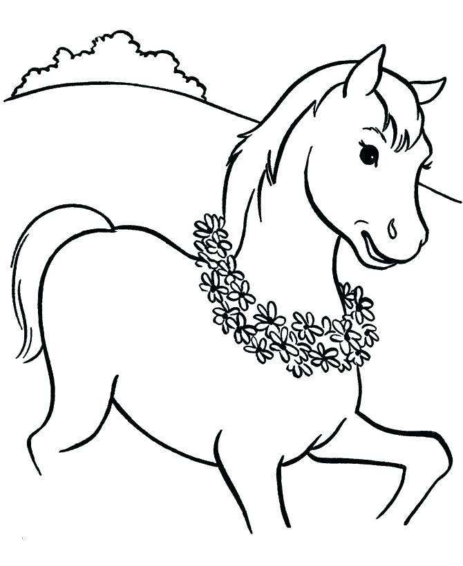670x820 Filly Coloring Pages Horse And Foal Drawing At Com Free