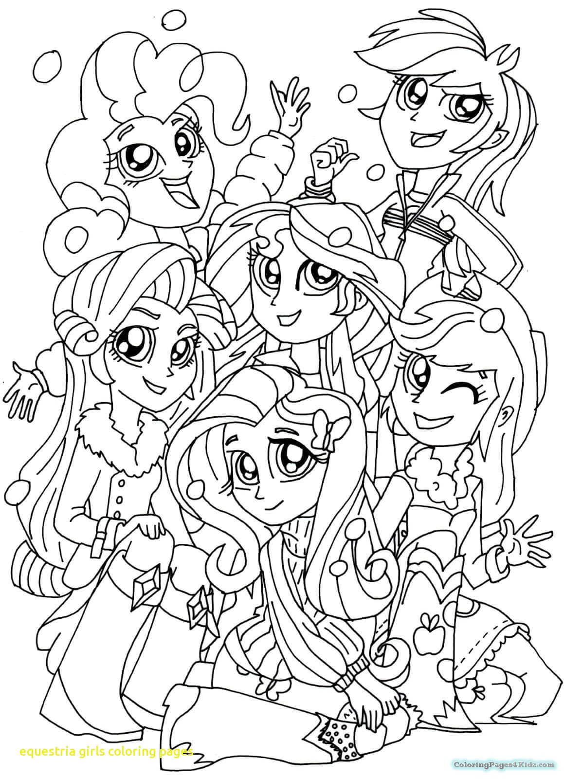 1159x1600 Equestria Girls Coloring Pages With My Little Pony Equestria Girls