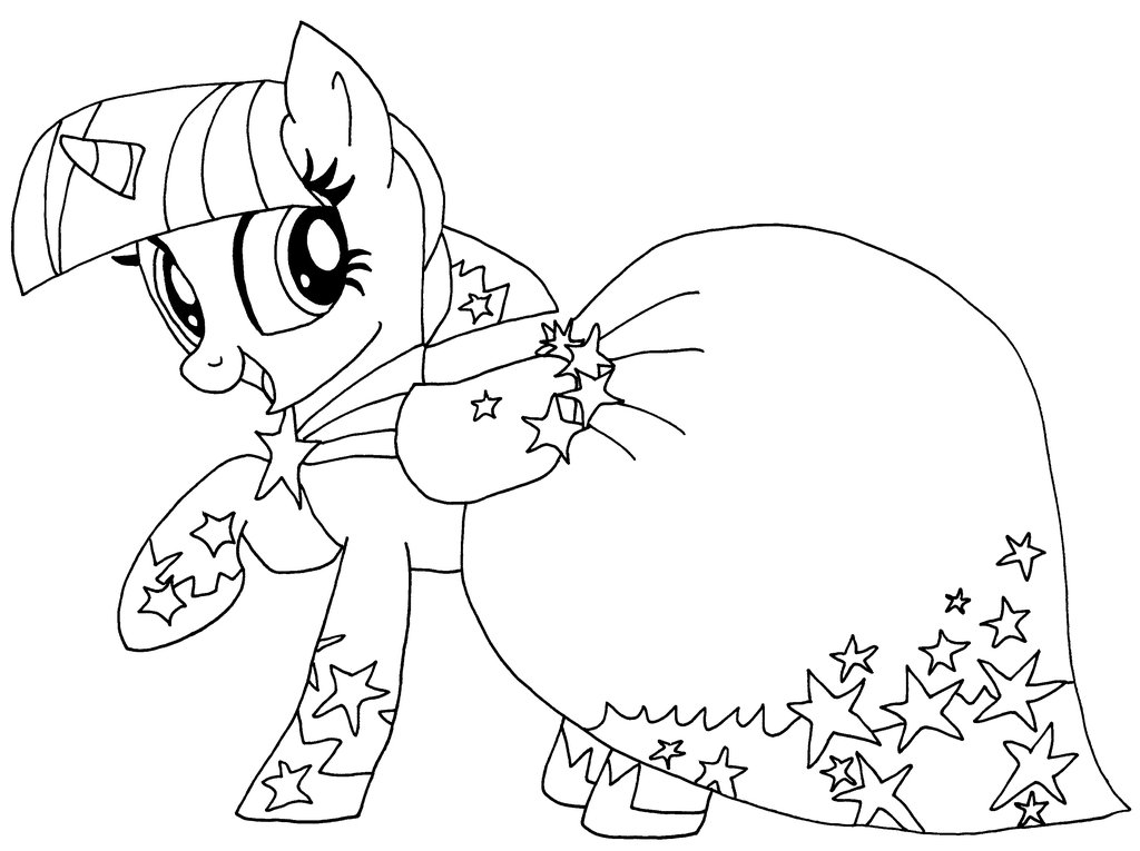 My Little Pony Coloring Pages Twilight Sparkle at GetDrawings ...
