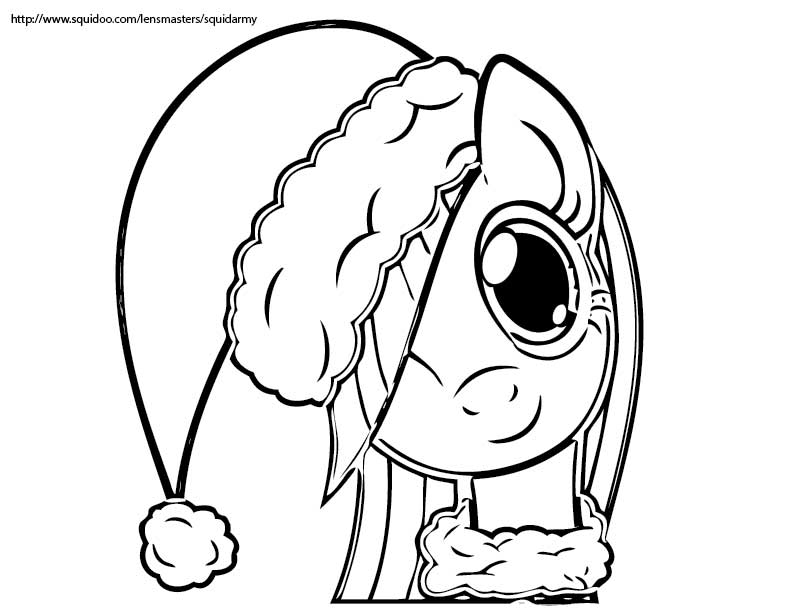 792x612 Mlp Fim Coloring Pages Awesome My Little Pony Christmas Coloring
