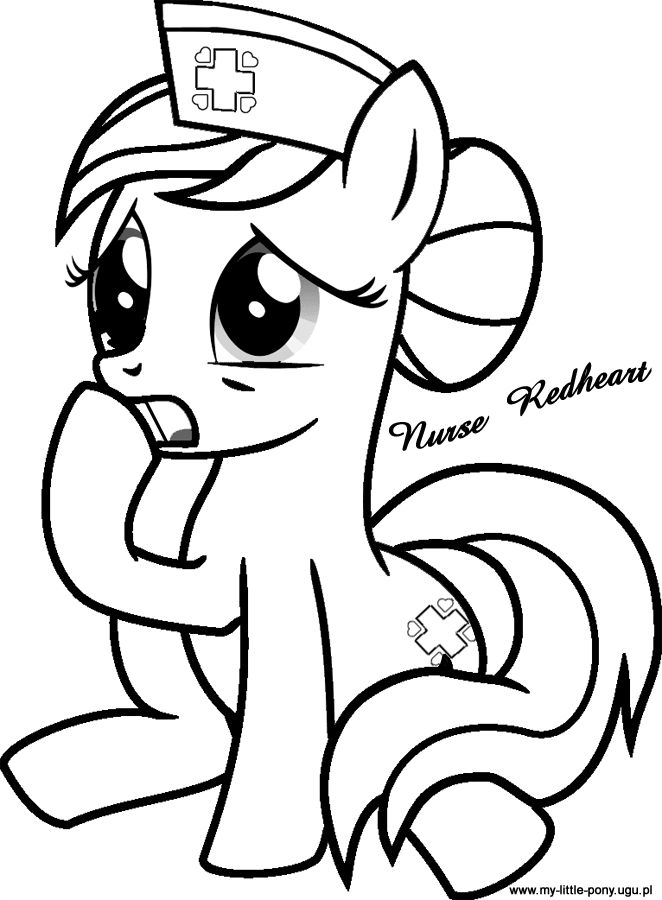 My Little Pony Easter Coloring Pages