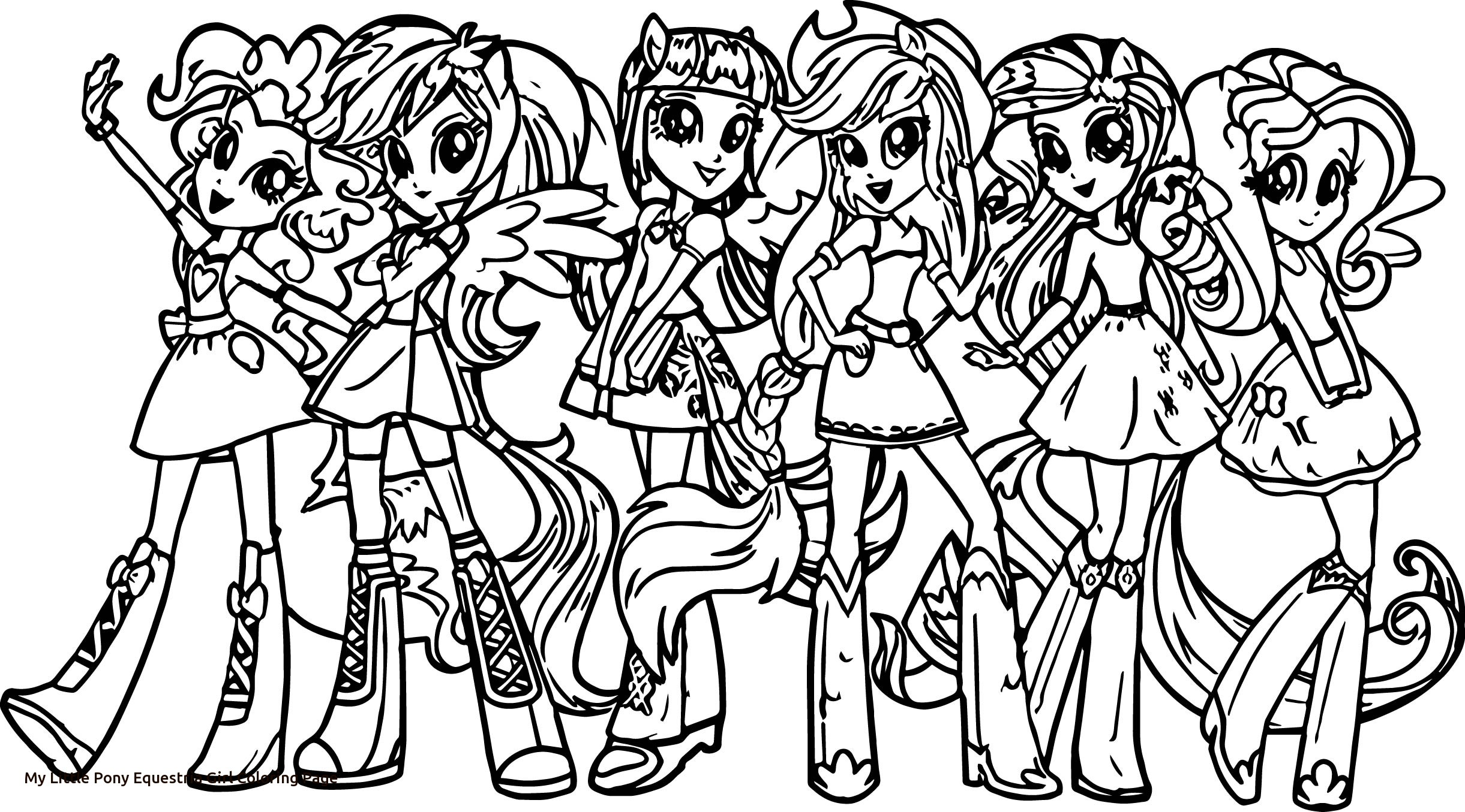 2442x1355 My Little Pony Equestria Girls Coloring Pages