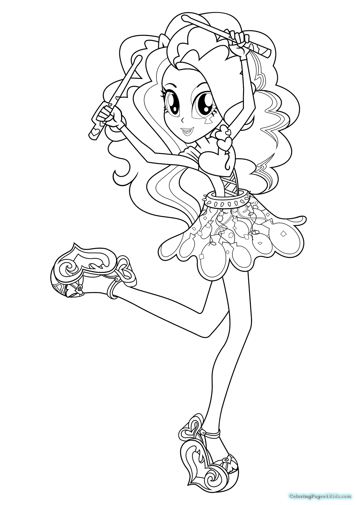 1200x1700 The Best My Little Pony Equestria Girl Coloring Pages Pict