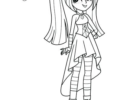 440x330 Coloriage My Little Pony Equestria Girl