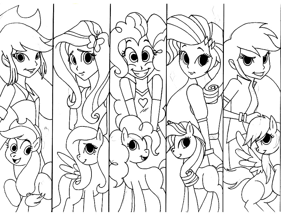 900x700 My Little Pony Equestria Girls Coloring Pages Equestria Girls